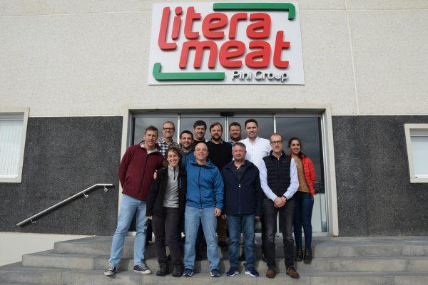 Litera Meat recibe a un grupo de ganaderos argentinos