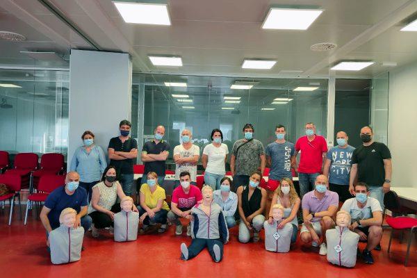 Curso DESA realizado con éxito en el Centro de formación Litera Meat