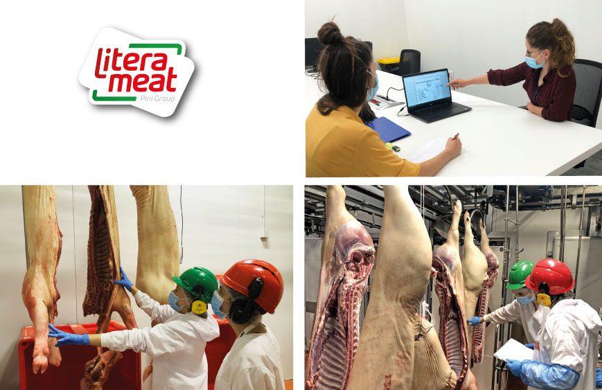 Veterinarias internas de Litera Meat impartiendo la formación de Auxiliar de Inspección Veterinaria (AOIV)